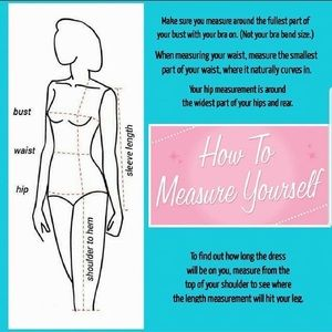 Other - How to measure yourself and other fashion info